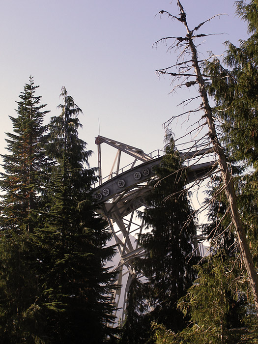 Grouse Mountain tram lift tower