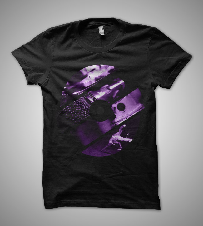 DJ Submeg t-shirt design