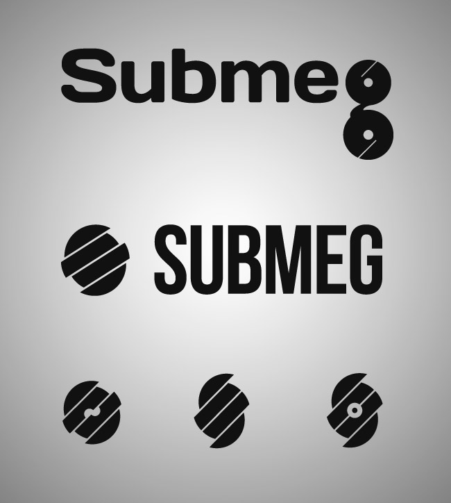 DJ Submeg unused logo concepts