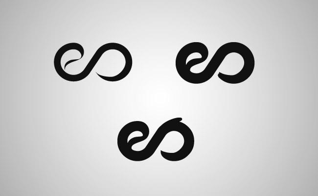 Elifer Santos logo drafts