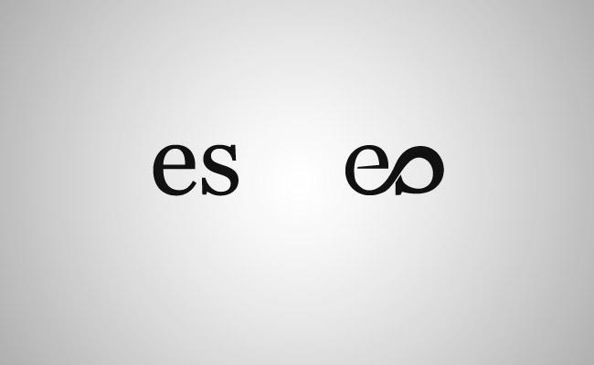 Elifer Santos logo development