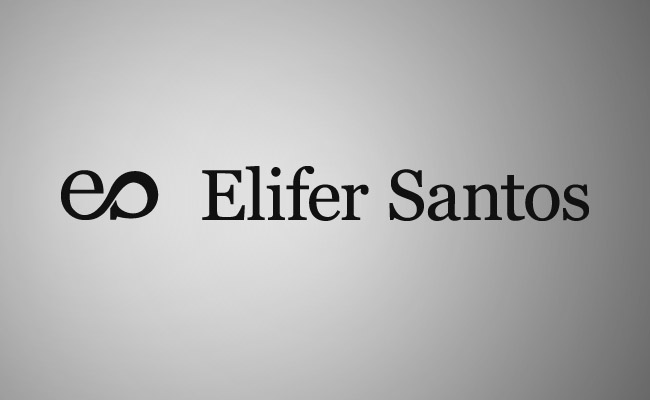 Elifer Santos final logo with name