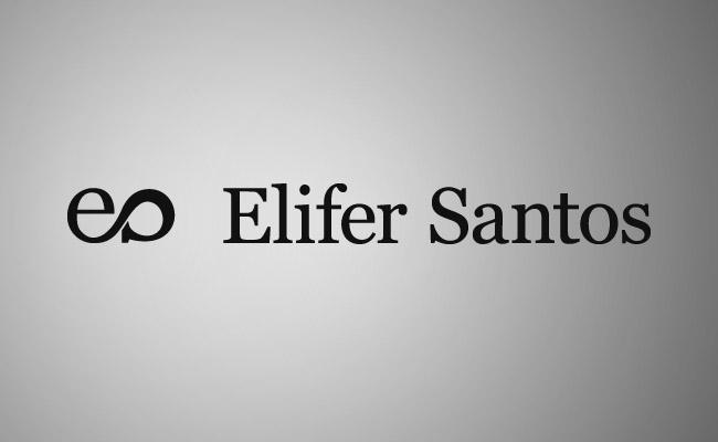 Elifer Santos final logo with name