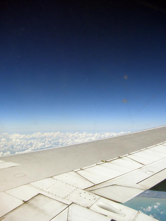 Flight into Kuala Lumpur