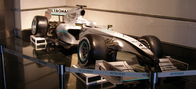 Petronas F1 car
