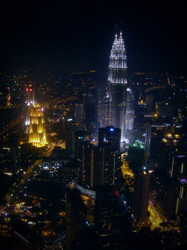 Petronas Towers from the KL Tower