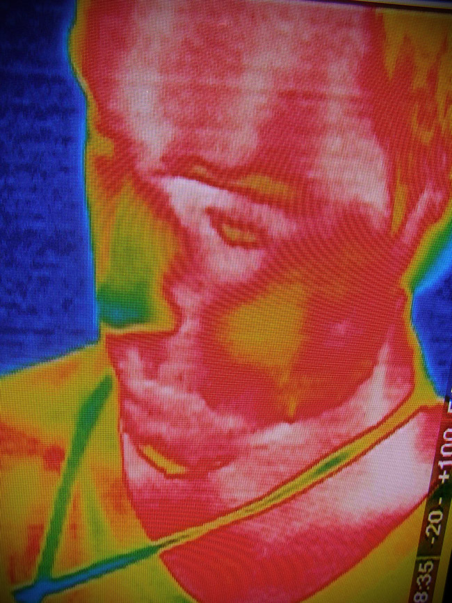 Thermal imaging at the Petronas Science Centre