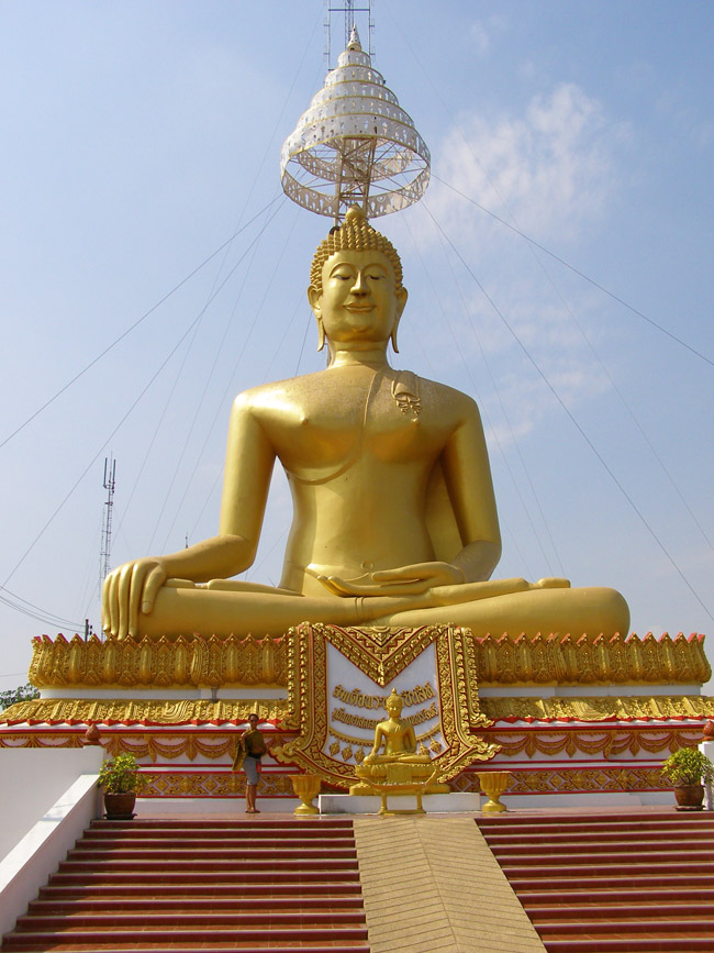 Huge Buddha sculpture