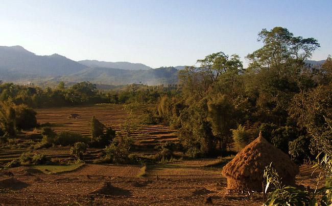 Haystack in Pai valley
