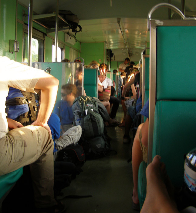The train between Laos and Thailand