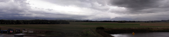 Panorama of the Yarra Valley