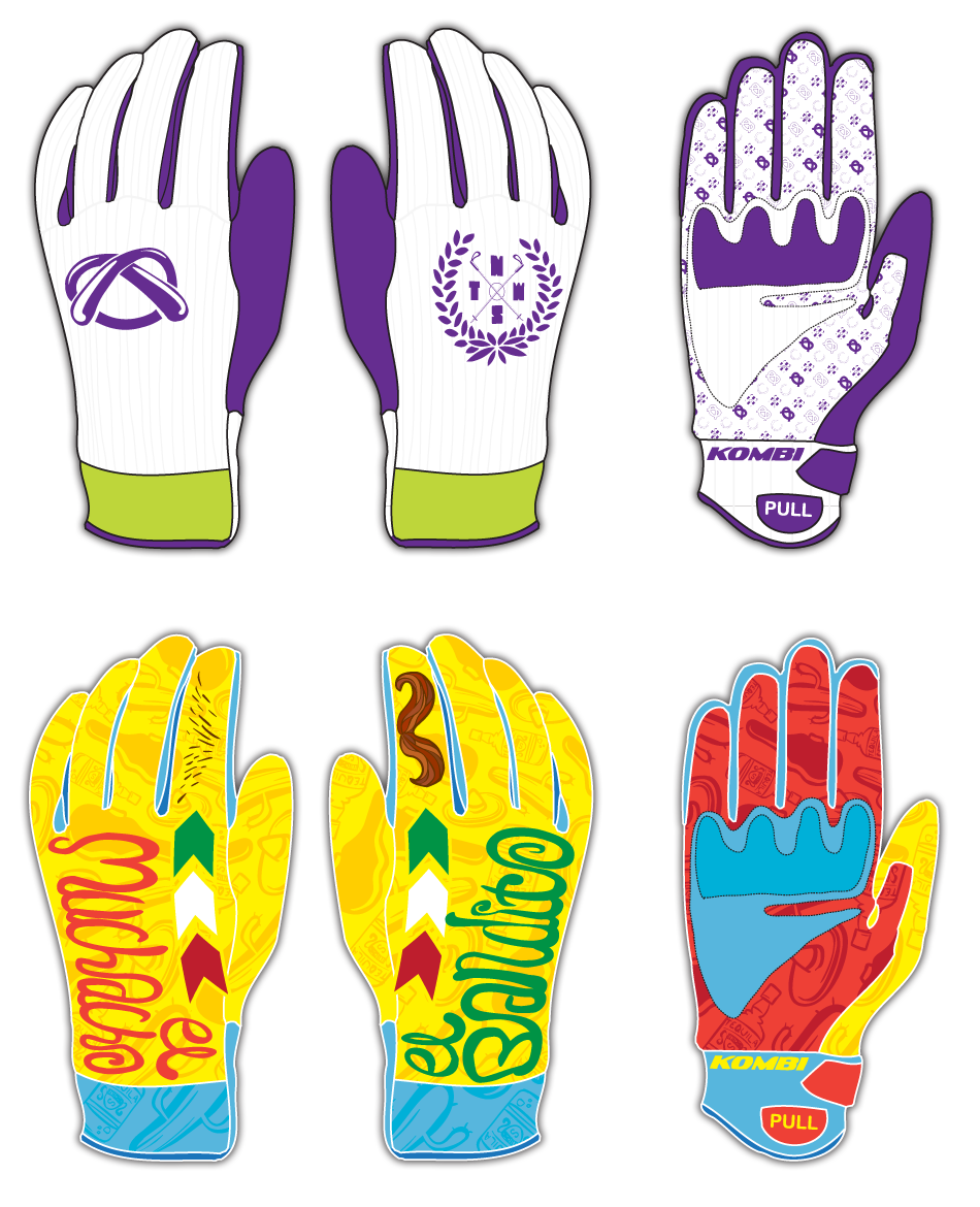 Kombi / Tom Wallish glove design contest entries
