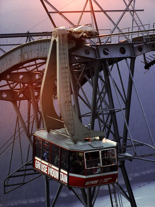 Tram at Grouse Mountain