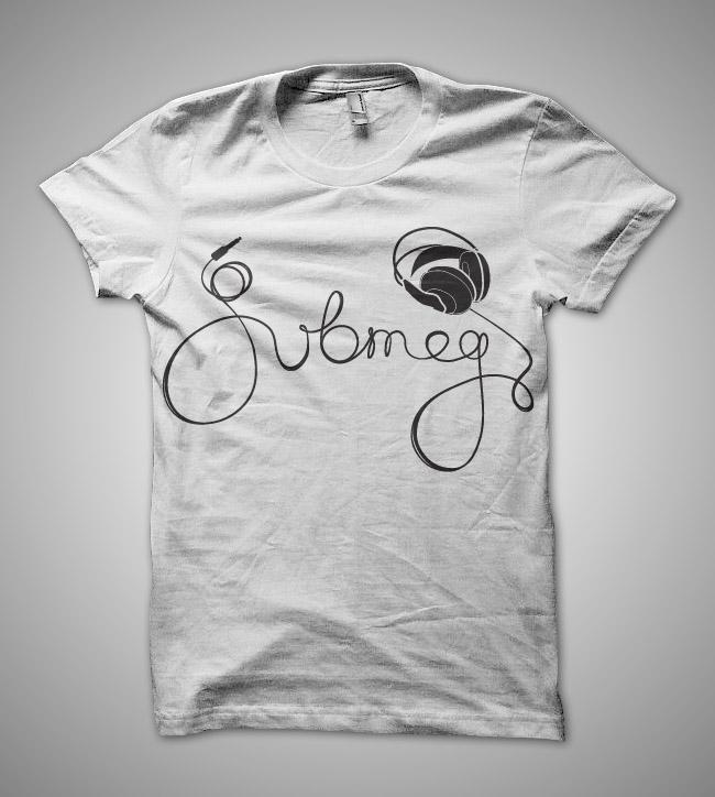 DJ Submeg t-shirt design