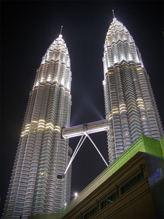 Petronas Towers from the base