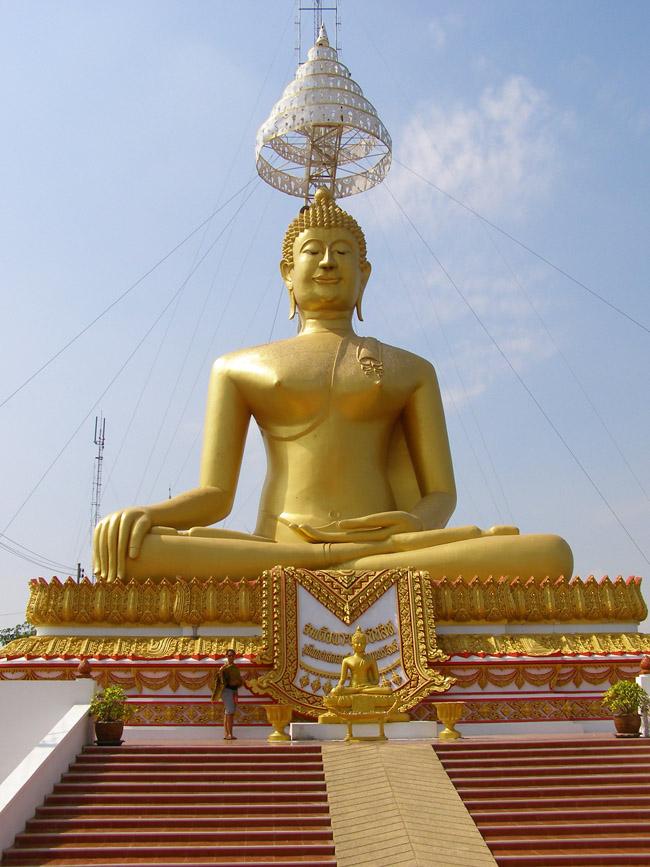 Huge Buddha sculpture