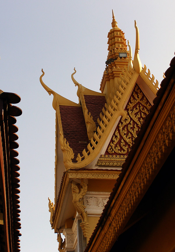 Architecture at the Royal Palace