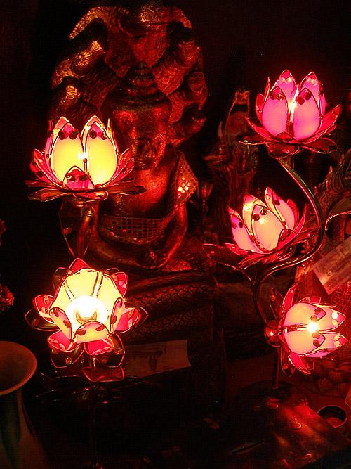 A small shrine inside Wat Phnom