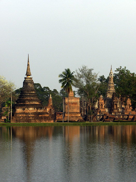Temples and a moat