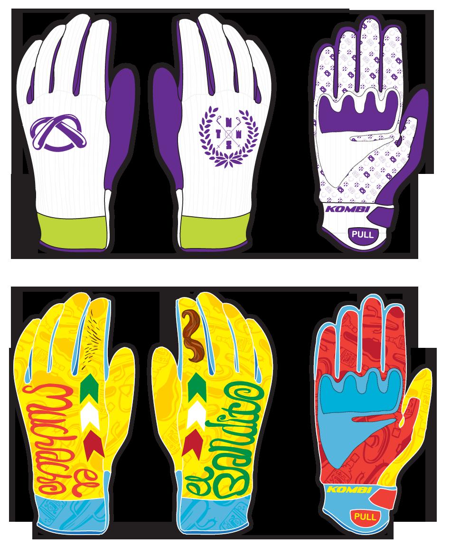 Kombi / Tom Wallish glove design contest entries