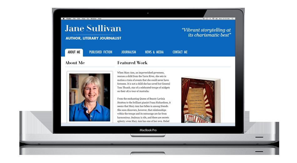 Jane Sullivan, Australian author