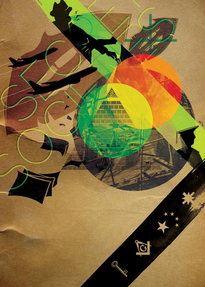 On Dit cover illustration